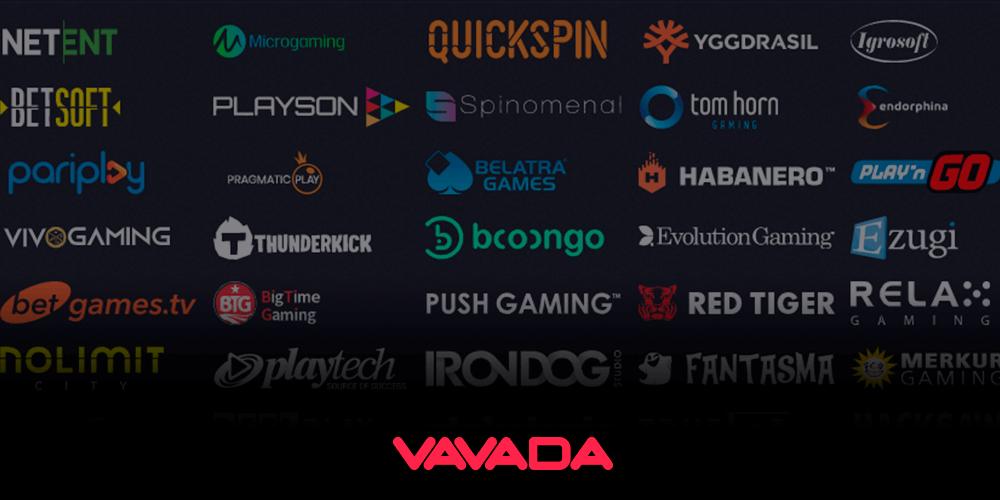 Разработчики игровых автоматов казино Vavada